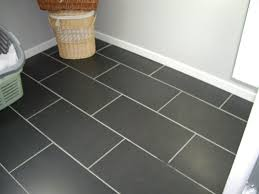 lino pour chambre sol pvc imitation carrelage de ciment charmant rnover salle lino