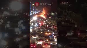 car junkyard riyadh petrol truck catches fire on makkah jeddah highway youtube