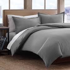 Eddie Bauer Bedroom Furniture by Pinstripe 3 Piece Duvet Set U0026 Reviews Allmodern