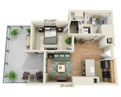 The Azure Floor Plan by Floor Plans And Pricing For Delancey At Shirlington Village