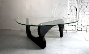 coffee table marvelous noguchi style table upholstered coffee