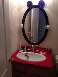 mickey mouse bathroom ideas mickey mouse bathroom that mirror decorating disney