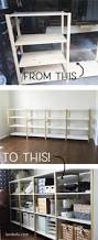 ikea hack ivar home office shelves landeelu com