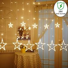 ucharge curtain lights 8 modes 29v with 12