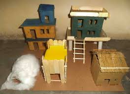 different types of houses science project in chandigarh