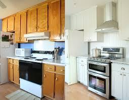 Before After Kitchen Cabinets Refurbished Kitchen Cabinets Before And After Tehranway Decoration