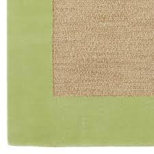 Rug Green Classic Wool Border Rug Pbteen