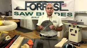 forrest table saw blades forrest saw blade products presented by woodcraft youtube
