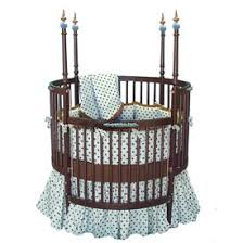 Brown Baby Crib Bedding Chocolate Brown And Blue Crib Bedding By Baby Doll