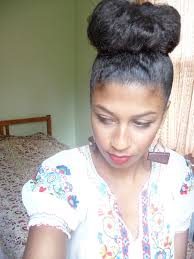 pics of black pretty big hair buns with added hair luv the high bun it s getting it the car that s the trouble