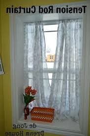 Window Curtain Tension Rod Sheer Curtains Tension Rods Window Sill Rod Interior