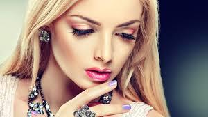 Makeup Hair Salon Red Eyeshadow Perfect Makeup Fashion Wide Hd Wallpaper Jpg