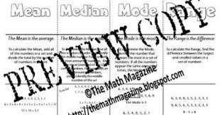 the math magazine measures of central tendency mean median mode