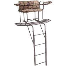 Ameristep Tree Stand Blind 2 Man Ladder Stand Ebay