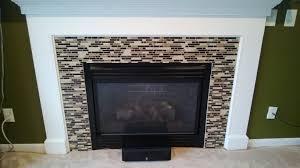modern mosaic tile backsplash fireplace 49 mosaic tile backsplash