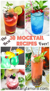 this is a list of the best 30 mocktail recipes ever recipes for