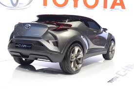 nissan juke vs toyota chr updated toyota c hr ii concept moves a little closer to reality