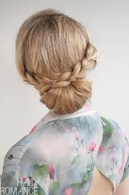 howtododoughnut plait in hair 30 buns in 30 days day 12 braid over bun hairstyle hair romance