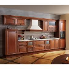 solid wood kitchen cabinet china high end alder solid wood kitchen cabinet furniture op13 023