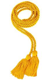 graduation cords gold college honor cord gradshop