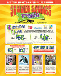 4 great attractions 1 low price summer savings pass on sale may