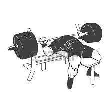 Narrow Grip Bench Bench Press Clipart Clipart Collection Stncldsnake Getting