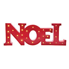 shop living pre lit noel ornament stand with constant