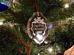 Couple First Christmas Ornament The Finest Gift Encouragement Is Personal
