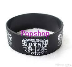 silicone bracelet black images 2018 new k pop bts bracelet new brand bts bangtan boys silicone jpg