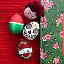 egg decorations frida kahlo mexican easter egg decorations zest and lavender