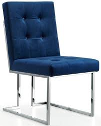 Navy Parsons Chair 8 Elegant Velvet Dining Chairs In Navy Blue Cute Furniture