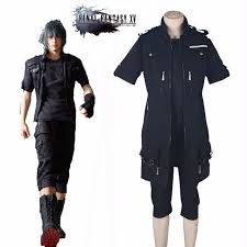 Combat Halloween Costumes Final Fantasy Xv Noctis Lucis Cosplay Costume Game Ff15 Cool Boy