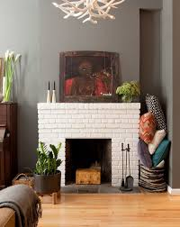 best 25 eclectic fireplaces ideas on pinterest brick fireplace
