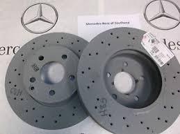 mercedes c class brake discs genuine mercedes w204 c class front brake discs amg