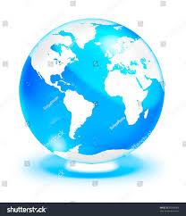 World Map Globe by Crystal Clear Globe World Map Isolated Stock Illustration 85489366