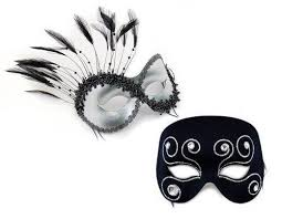 matching masquerade masks feather masquerade masks ostrich peacock and fab feathered