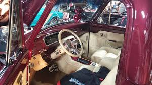 beautiful interior in a 1953 1954 1955 ford f100 f 100 pickup