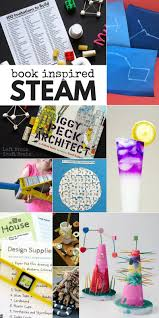 book inspired steam projects for kids left brain craft brain