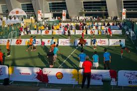the sports fan zone qfa and qatar shell to host koora time fan zone at hh emir cup final