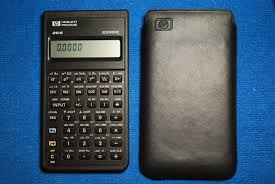 hp 11c scientific calculator works collectible vintage online used
