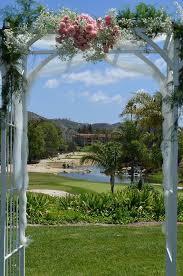 wedding arches san diego bernardo heights country club venue san diego ca weddingwire