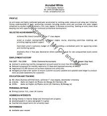 Resume Good Example by 28 Curriculum Vitae Good Example Expert Cv Advice Sample Of
