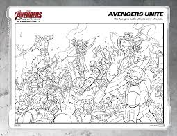 avengers movie colouring pages funny pics color cartoon