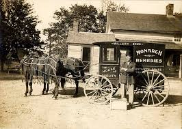 Wisconsin traveling salesman images Horse drawn patent medicines wagon a traveling salesman wi flickr jpg