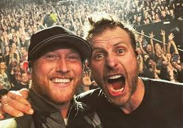 dierks bentley family cole swindell takes notes from fellow star dierks bentley