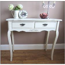 Shabby Chic Hall Table by French Ivory Cream Console Table Vintage Chic Vintage Ivory