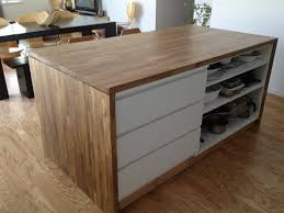 kitchen islands ikea ikea s malm dresser repurposed into a kitchen island look at all