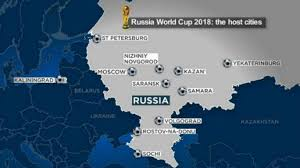 russia football map world cup 2018 who s who in russia next year euronews