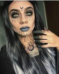 Super Scary Halloween Costumes Girls 20 Scary Halloween Makeup Ideas Creepy Makeup