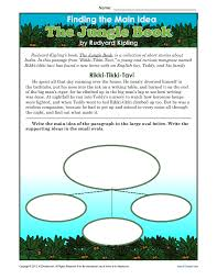 free main idea worksheets 4th grade worksheets
